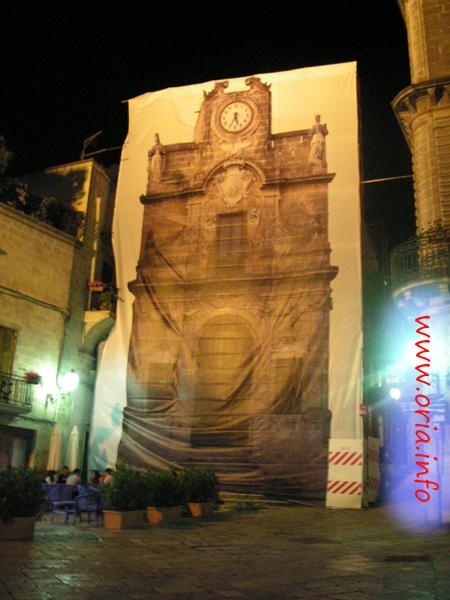 Il Sedile in Piazza Manfredi ad Oria