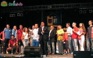 Momento della premiazione del Contropalio 2008