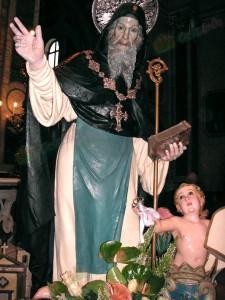 San Barsanofio Abate, Protettore della Città di Oria e della Diocesi di Oria
