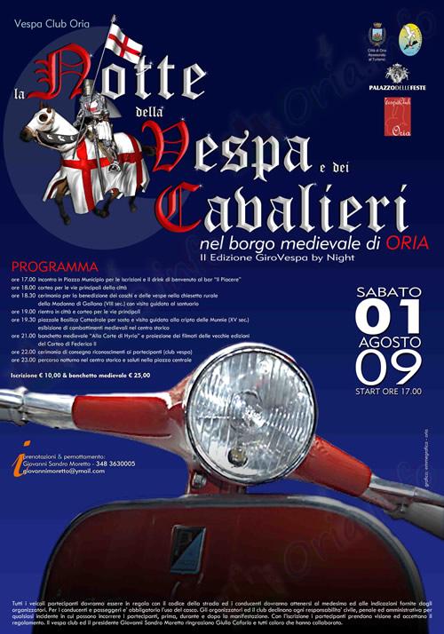 Girovespa 2009 ad Oria