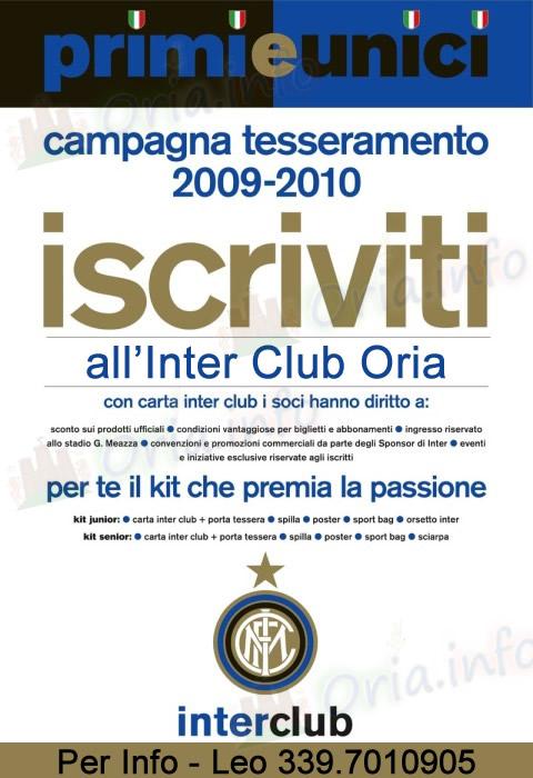 Inter Club Oria