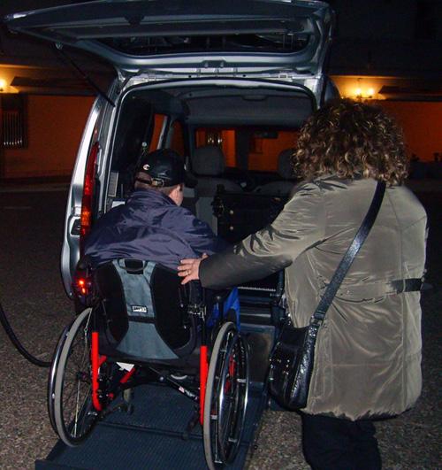 Trasporto dei disabili