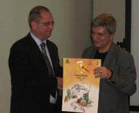 Il Sindaco Ferretti e il Presidente Vendola