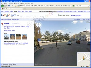 Google Street View ad Oria