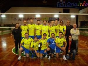 Foto di squadra della Volley Start Oria.