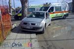 Incidente in viale Regina Margherita ad Oria