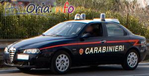 Carabinieri del Norm di Francavilla Fontana