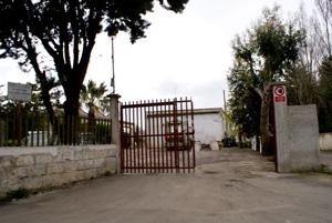 Il deposito della Monteco di via San Lorenzo