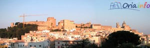 Le fasi iniziali del restauro del Castello di Oria