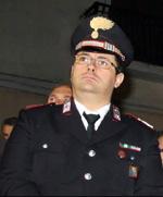 Maresciallo Luogotenente Roberto Borrello comandante della stazione di Oria