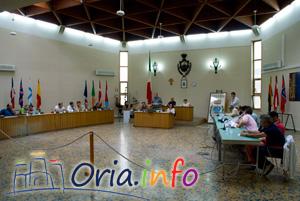 Consiglio comunale di Oria