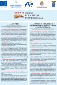 Corso per hostess e installatori di pannelli solari a Brindisi