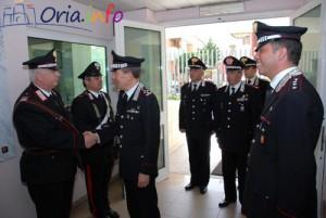Il Generale presso la Compagnia di Francavilla Fontana
