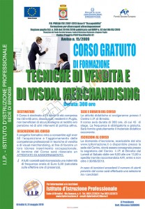 Brindisi: Corso di Formazione per disoccupati ultracinquantenni