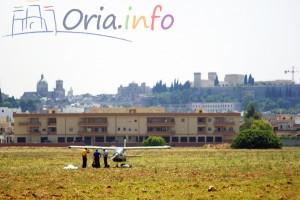 Atterraggio di emergenza ad Oria