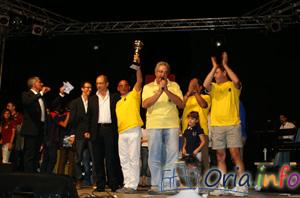 Premiazione del Rione San Basilio al Contropalio 2009