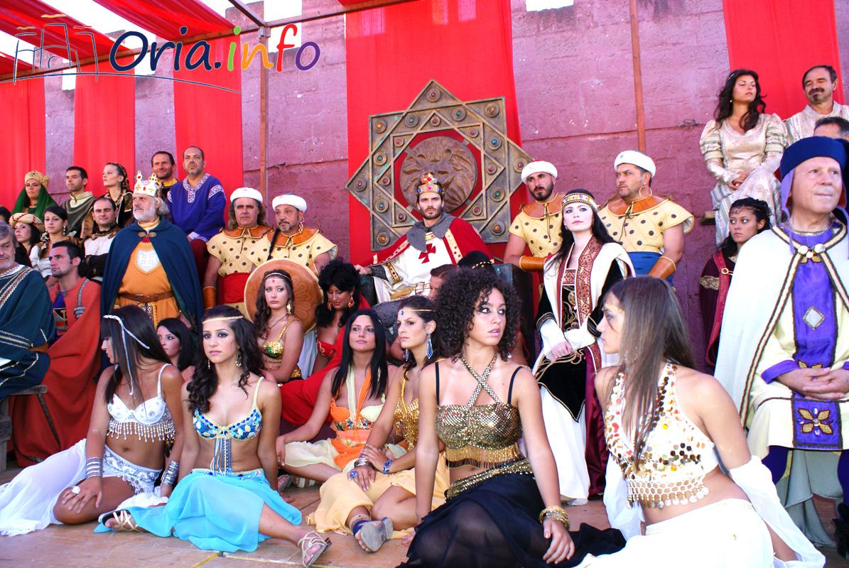 Foto di repertorio del Torneo dei Rioni