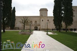 giardino interno del castello