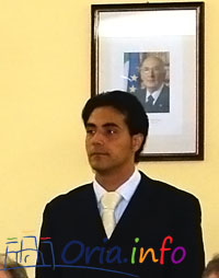 Antonio Metrangolo, presidente del Consiglio Comunale di Oria