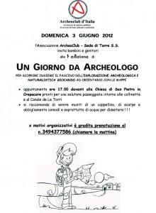 Un giorno da archeologo - Archeoclub Torre Santa Susanna