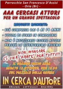 Parrocchia San Francesco d'Assisi in Oria - ACR 2012-2013