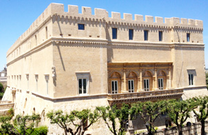 Una veduta del Castello di Francavilla Fontana