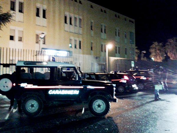 Carabinieri nei pressi della Compagnia di Francavilla Fontana (foto di repertorio)