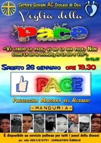 Veglia della Pace AC Oria - 28 gennaio 2013