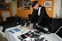 Gli oggetti recuperati dai Carabinieri di Latiano
