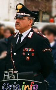 Il comandante della Stazione Carabinieri di Erchie, mar. Michele Bisazza