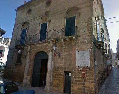 Palazzo Martini, dove sorgerà il nuovo museo