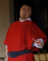 Pierdamiano Mazza interpreta Pietro di Bernardone
