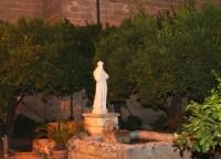 Uno scorcio del Giardino di San Francesco ad Oria