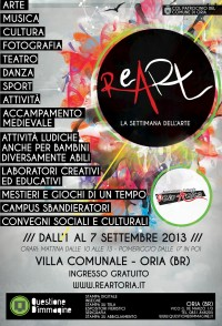 Manifesto Re-Art 2013