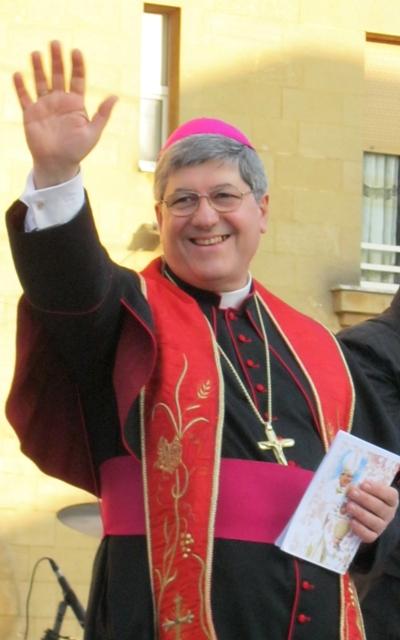 Il vescovo Vincenzo Pisanello