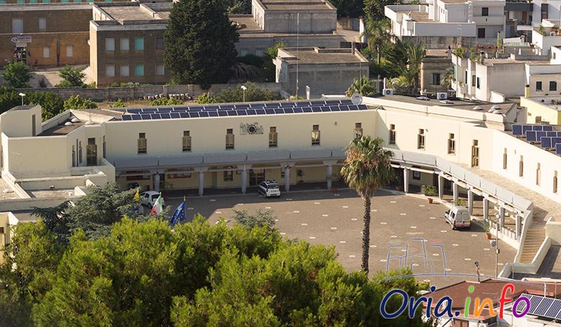 Il municipio di Oria