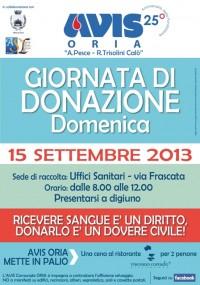 Avis donazione settembre 2013