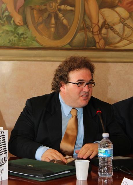 Assessore al Turismo, Claudio Zanzarelli