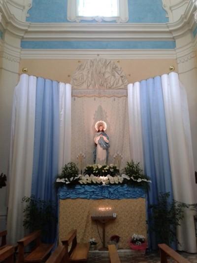 Immacolata - chiesa di San Francesco d'Assisi in Oria - foto Pierdamiano Mazza 2013