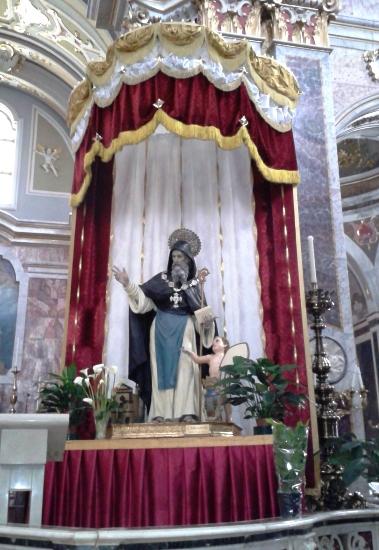 San Barsanofio - Basilica Cattedrale di Oria, febbraio 2014