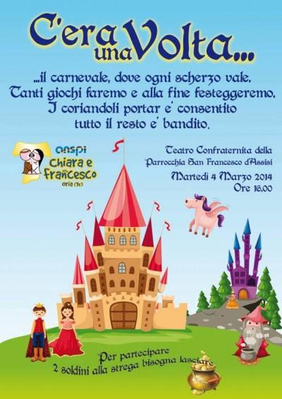 Festa carnevale 2014, Oria ANSPI