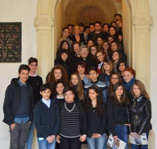 4 aprile 2014 - Iter Oria incontra il vescovo Pisanello.