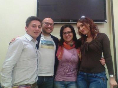 Martino D'Amico, Ubaldo Spina, Valeria Gagliano, Mina Vitale