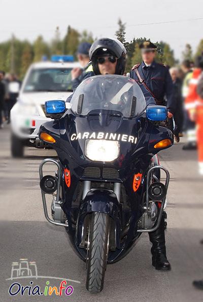 Carabiniere in moto, foto di repertorio
