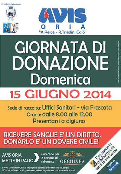 AVIS-Oria,-donazione-15-giugno-2014
