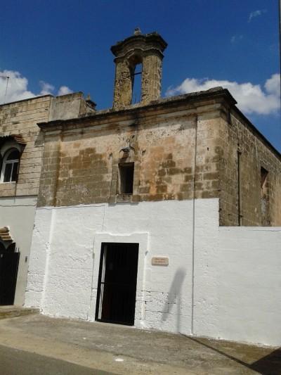 La chiesa del Crocifisso di Vignarola in Oria