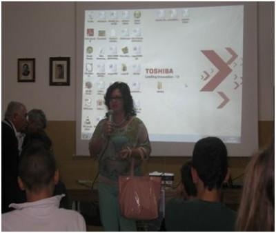 Il dirigente scolastico Luciana Lovecchio