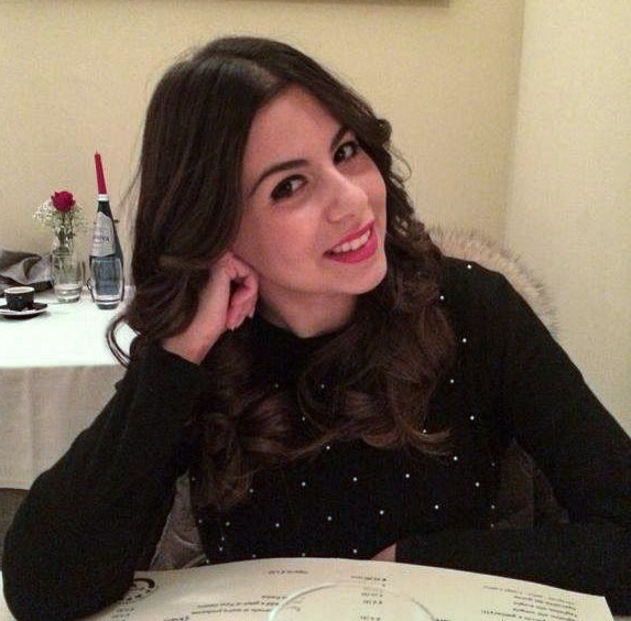 Dott.ssa Cristina Cloro, oritana di 24 anni
