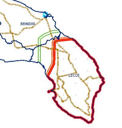 Saranno abbattuti tutti gli ulivi sani che si trovano nella fascia di 15km adiacente con la zona ormai infetta (delimitata dal rosso), per evitare che il batterio si estenda verso nord. Anche se ha già colpito anche Oria, molto più a nord, con un piccolo focolaio