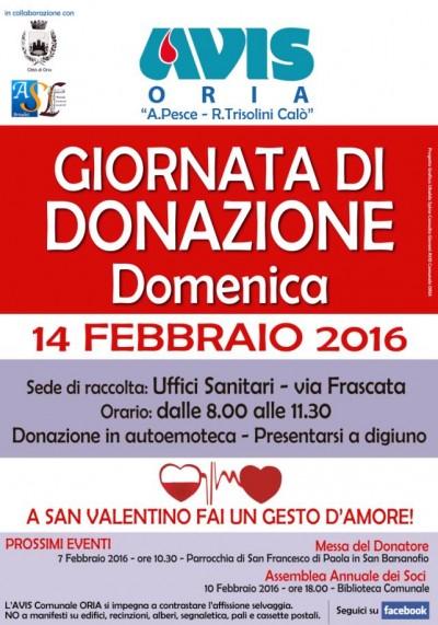AVIS_ORIA_DONAZIONE_14FEB16_
